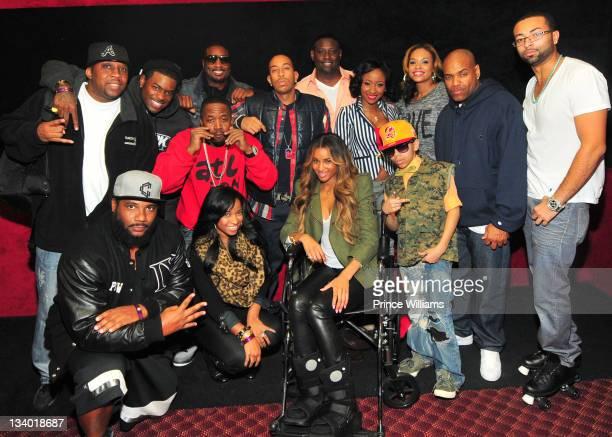 Polow, Antonia Wright, Ciara, k-Swag, DJ Toomp, Ronnie, Demetria McKinney, Diamond, Guest, Ludacris, Big Boi, Devyne Stephens, Memphitz and Guest...