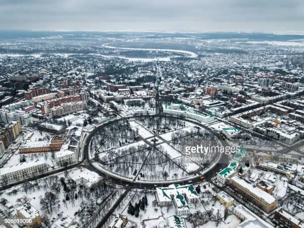 poltava and vorskla river - ukraine stock-fotos und bilder