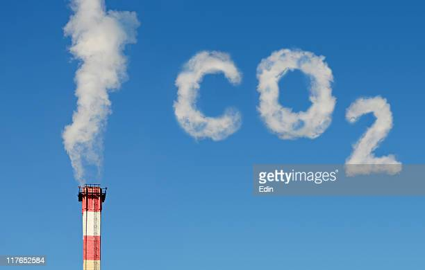co2 polution (new!!!) - carbon dioxide stock photos and pictures
