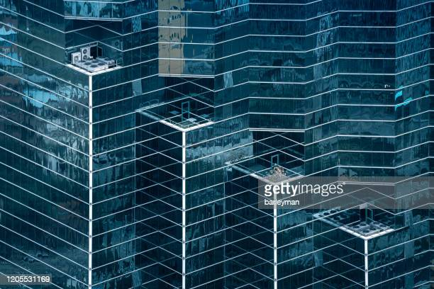 polygon glass building - singapore stock pictures, royalty-free photos & images