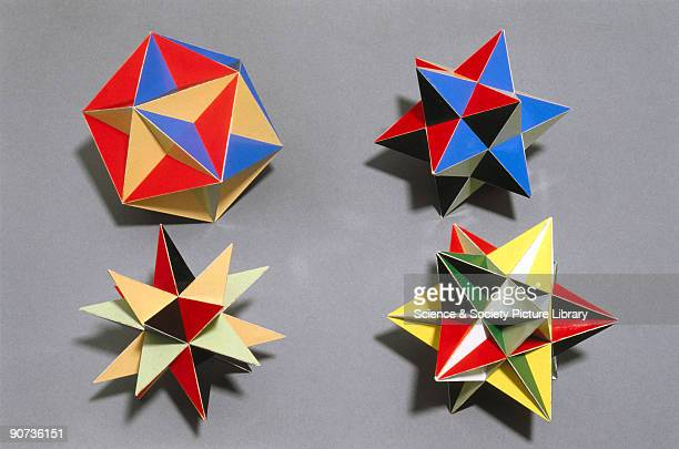A polyhedron is said to be regular when all its faces are uniform regular polygons The image shows the two Kepler star polyhedras described in 1619...