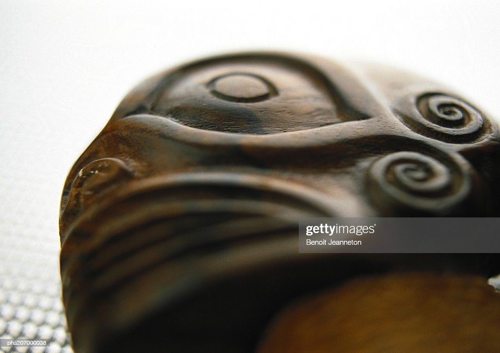 Polynesian artwork, close-up. : Stockfoto