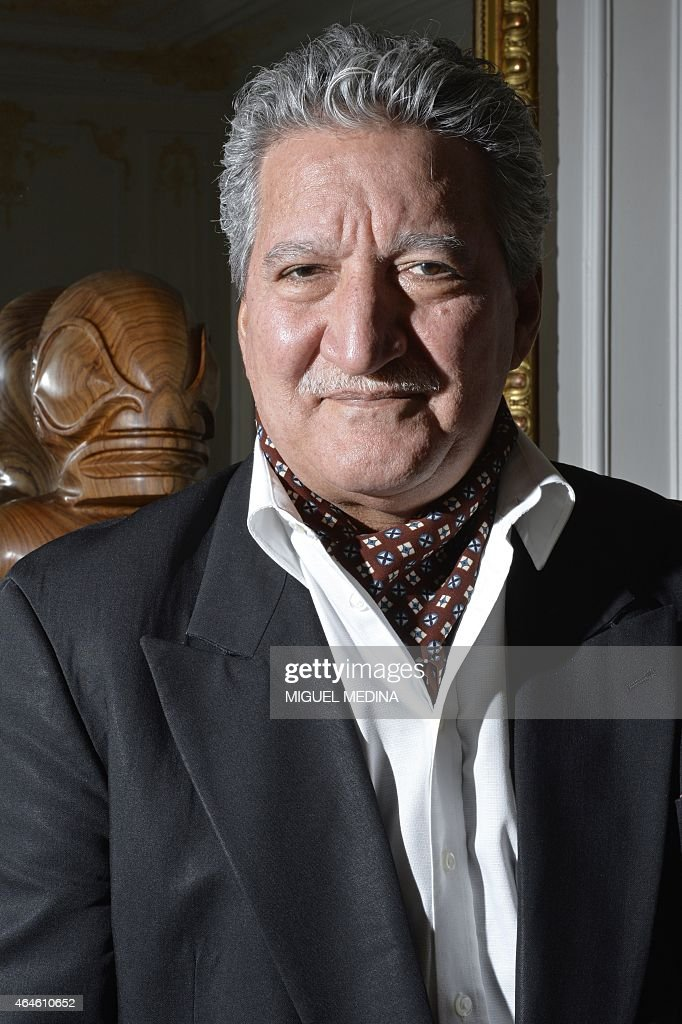 Polynesian minister of tourism, Jean-Christophe Bouissou, poses in ...