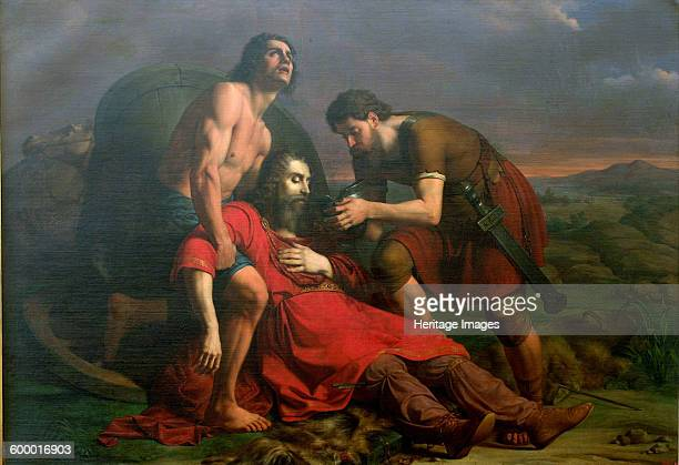 Polystratos and the Dying Darius 1837 Found in the collection of Pinacoteca Nazionale di Bologna Artist Masini Cesare