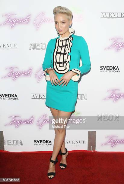 Pom Klementieff arrives at the Los Angeles premiere of Neon's Ingrid Goes West held at ArcLight Hollywood on July 27 2017 in Hollywood California