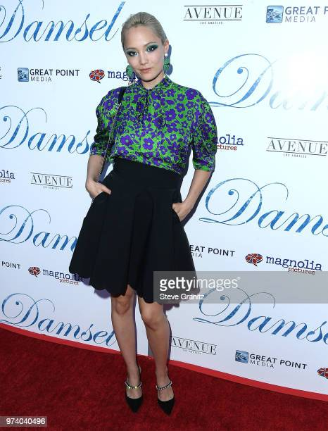 Pom Klementieff arrives at the Magnolia Pictures' 'Damsel' Premiere at ArcLight Hollywood on June 13 2018 in Hollywood California