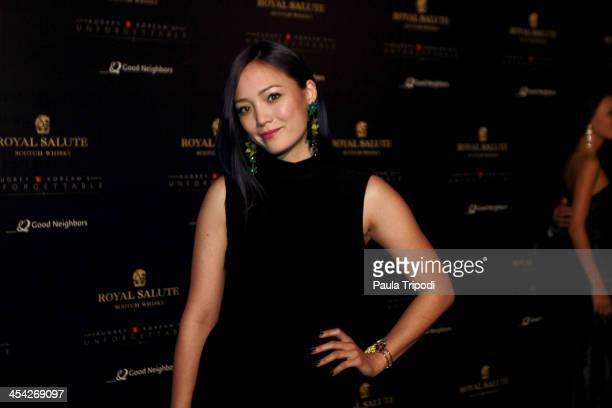 Pom Klementieff attends the 12th Annual Unforgettable Gala at Park Plaza on December 7 2013 in Los Angeles California