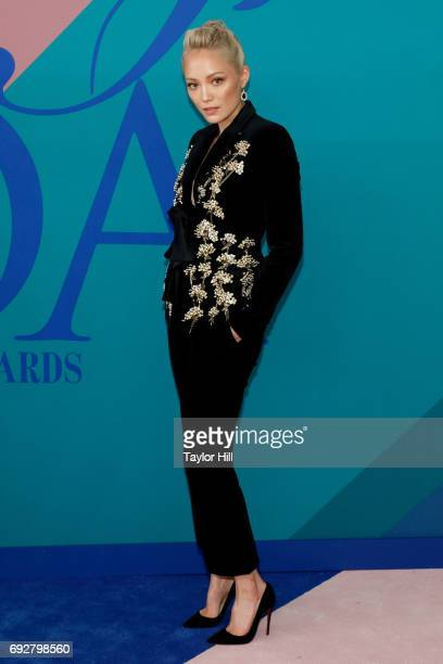 Pom Klementieff attends the 2017 CFDA Fashion Awards at Hammerstein Ballroom on June 5 2017 in New York City