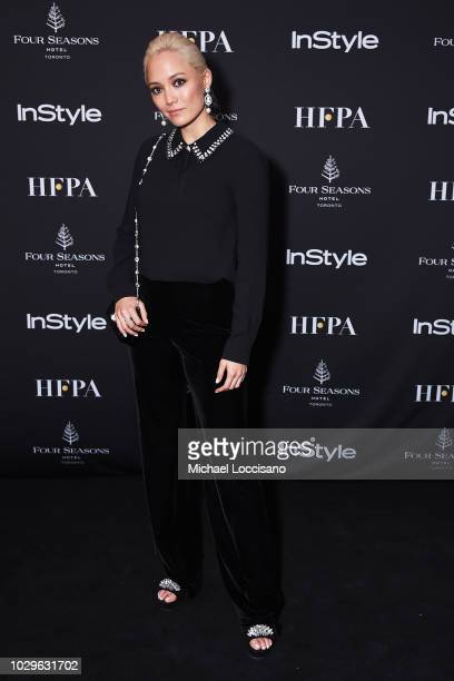 Pom Klementieff attends The Hollywood Foreign Press Association and InStyle Party during 2018 Toronto International Film Festival at Four Seasons...