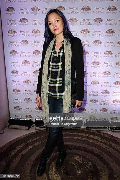 Pom Klementieff attends the 'J'Aime La Mode' Cocktail Event Hosted by Chef Thierry Marx at Hotel Mandarin Oriental on September 23 2013 in Paris...