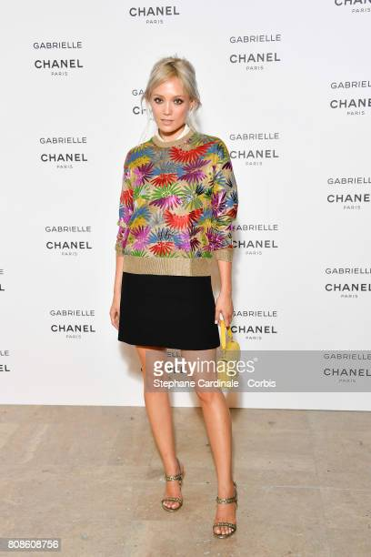 Pom Klementieff attends the launch party for Chanel's new perfume 'Gabrielle' as part of Paris Fashion Week on July 4 2017 in Paris France