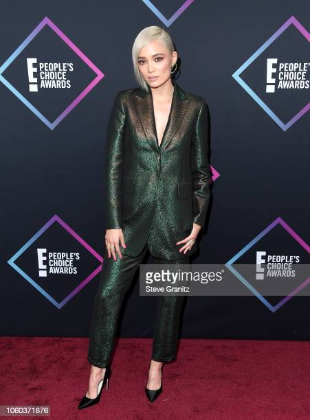 Pom Klementieff attends the People's Choice Awards 2018 at Barker Hangar on November 11 2018 in Santa Monica California