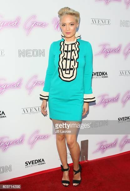 Pom Klementieff attends the premiere of Neon's 'Ingrid Goes West' on July 257 2017 in Hollywood California