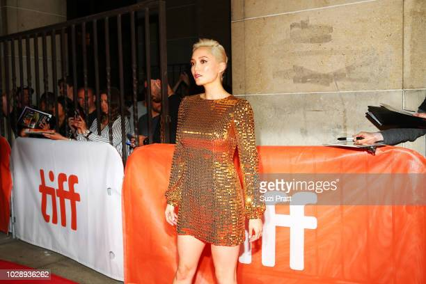 Pom Klementieff attends the 'White Boy Rick' premiere during 2018 Toronto International Film Festival at Ryerson Theatre on September 7 2018 in...