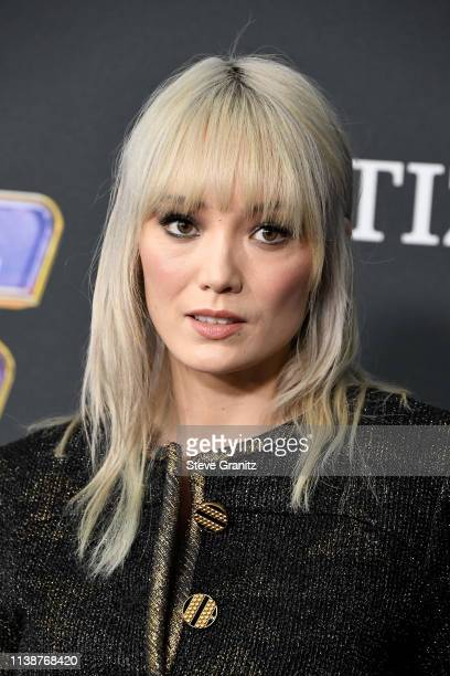 Pom Klementieff attends the world premiere of Walt Disney Studios Motion Pictures Avengers Endgame at the Los Angeles Convention Center on April 22...