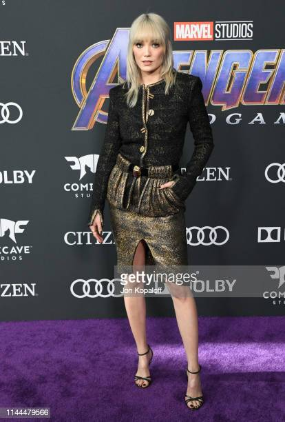 Pom Klementieff attends the World Premiere Of Walt Disney Studios Motion Pictures Avengers Endgame at Los Angeles Convention Center on April 22 2019...