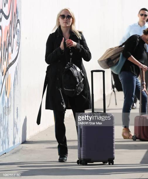 Pom Klementieff is seen on October 19 2018 in Los Angeles CA