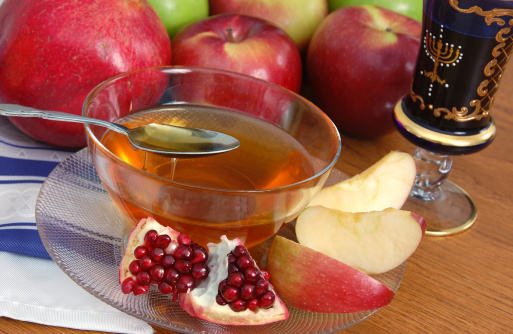 Pomegranate, Apples and Honey 157615337