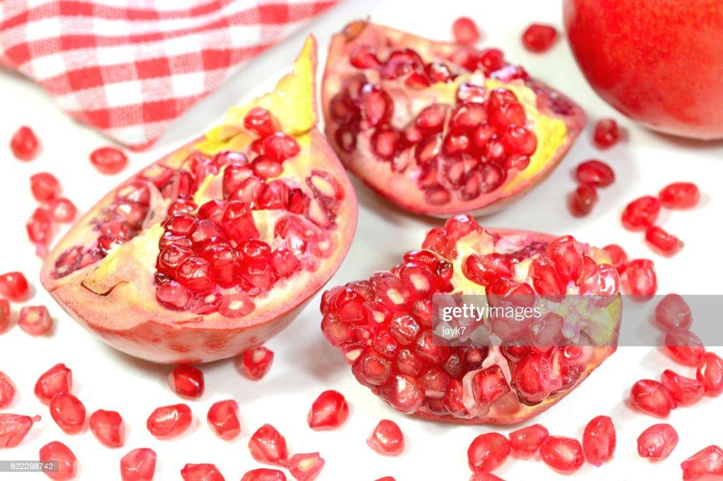 Pomegranate Fruit : Stock Photo