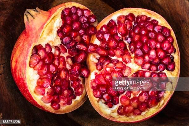Pomegranate Heart Still Life in Bowl
