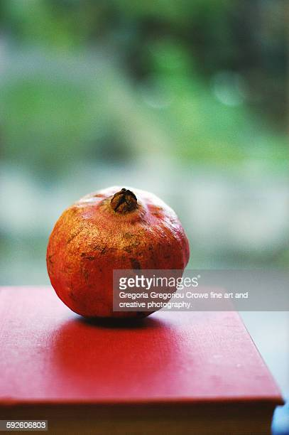 pomegranate - gregoria gregoriou crowe fine art and creative photography. stock photos and pictures