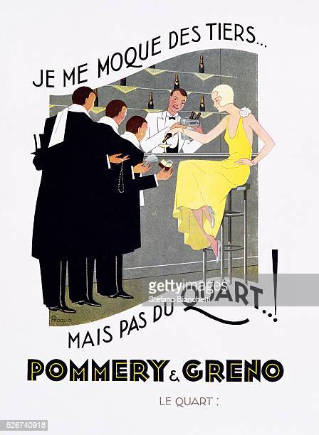 Pommery and Greno Poster