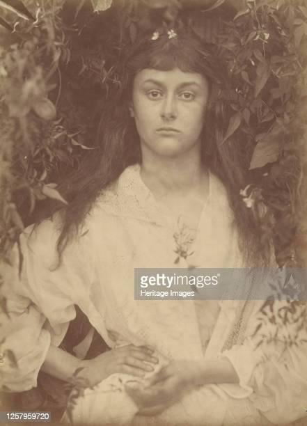 Pomona, 1872. The twenty-year-old Alice Liddell as the embodiment of fruitful abundance, Pomona, Roman goddess of gardens and fruit trees. Alice...