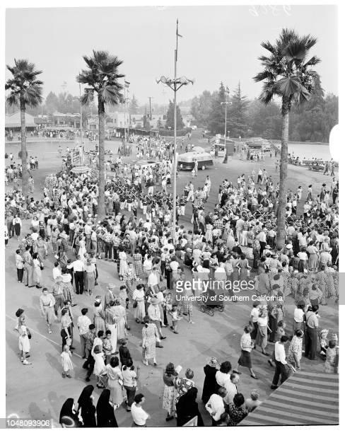 Pomona Fair 14 September 1951 Tich LennonLinda DucanRaymond DucanJohn David GlenBayleen Glasscock 11 yearsFrank Abrthy 10 yearsLarry Belden 10...