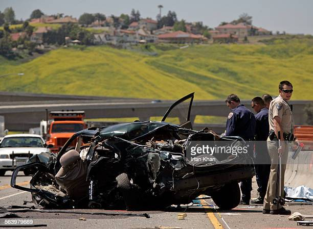 Pomona – Mar 11 2008 – – – – – Authorities say two young men killed this morning in a fatal single–vehicle crash on the Pomona Freeway were part of a...