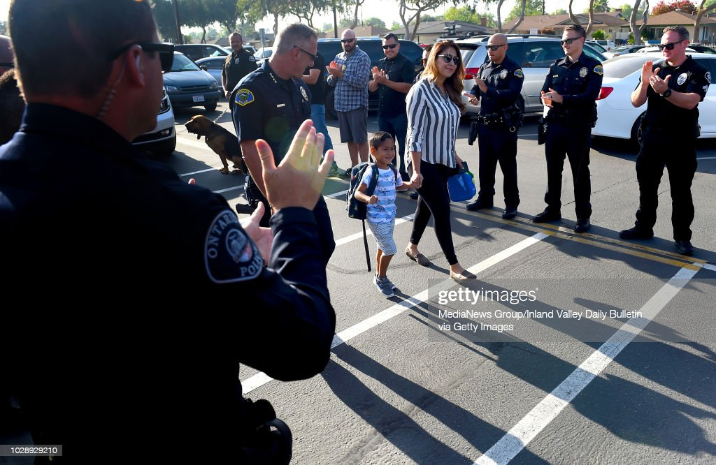 Pomona, Upland and Ontario officers welcome Greggorio
