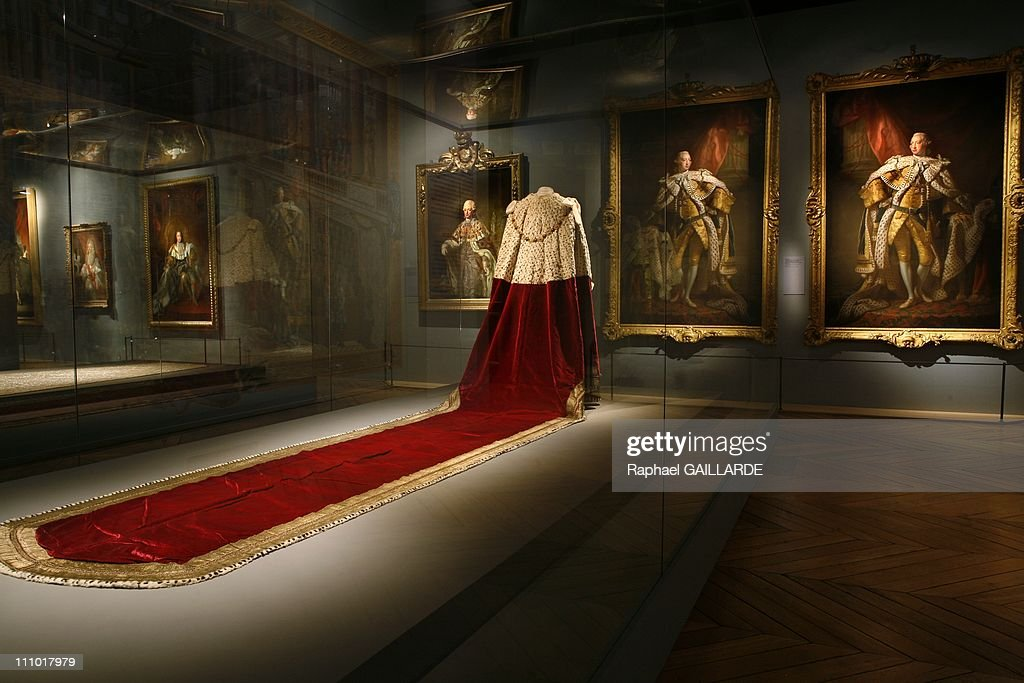 Pomp and ceremonies of the royal court' exhibition at Versailles Castle in Versailles, France on January 04th, 2009. : News Photo