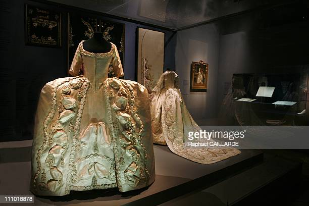 Pomp and ceremonies of the royal court' exhibition at Versailles Castle in Versailles France on January 04th 2009 Paree Dress Dress and Skirt 1780...