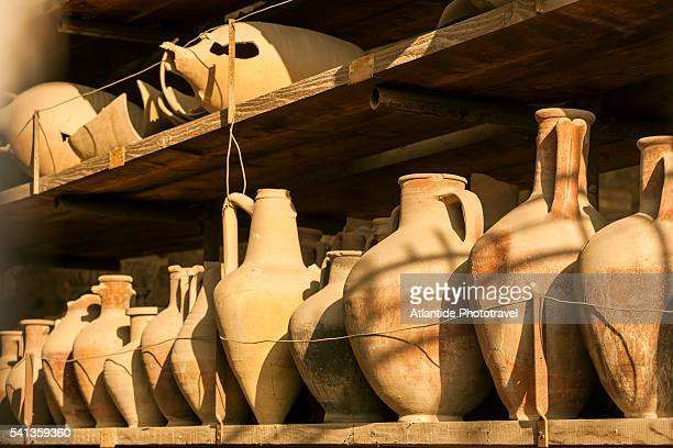 pompeii archaeological site - archaeology stock pictures, royalty-free photos & images