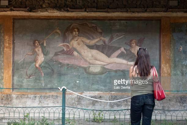 pompeii roman ruins.italy