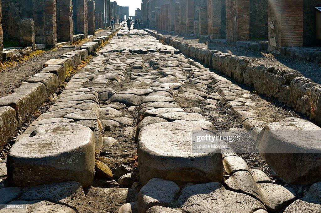 Pompeii Street : Stock Photo