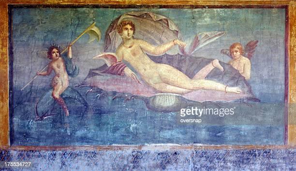 pompeji venus marina - nacktbilder stock-fotos und bilder