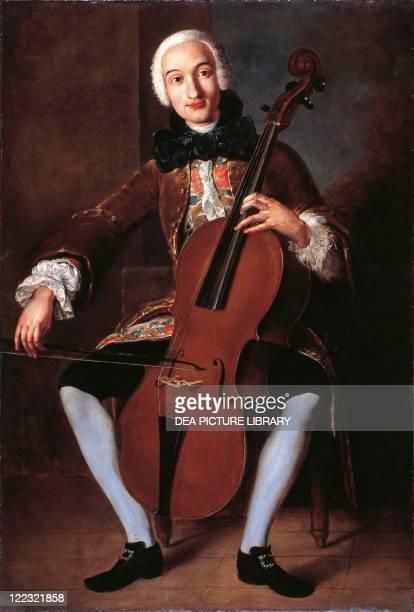 Pompeo Batoni Portrait of Luigi Boccherini Italian composer and cellist ca 1765