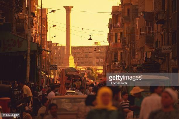 Pompey's pillar, Egypt, Low Angle View
