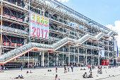 Pompidou Center in Paris