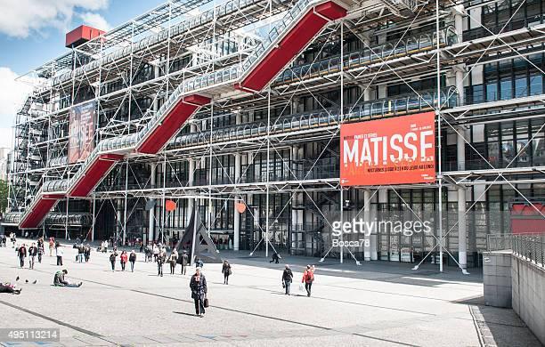 pompidou centre in paris, france - pompidou center stock pictures, royalty-free photos & images