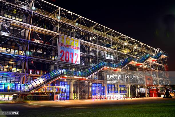 pompidou defocused - centre georges pompidou stock pictures, royalty-free photos & images