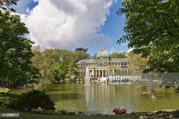 Pond of the Crystal Palace, Retiro Park - Estanque del Palacio de Cristal, Parque del Retiro