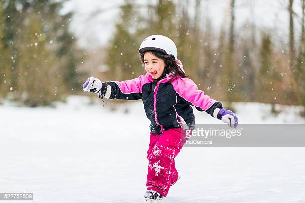 pond skating - skating stock pictures, royalty-free photos & images