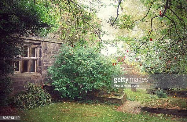 Ponden Hall Front Garden