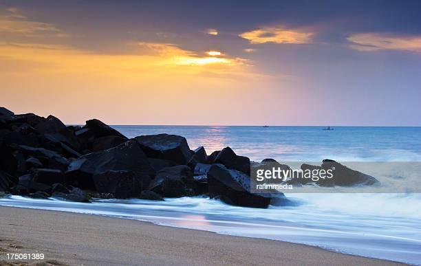 Pondicherry beach