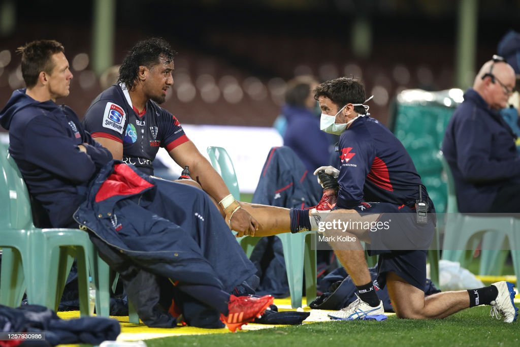 Super Rugby AU Rd 4 - Waratahs v Rebels : News Photo