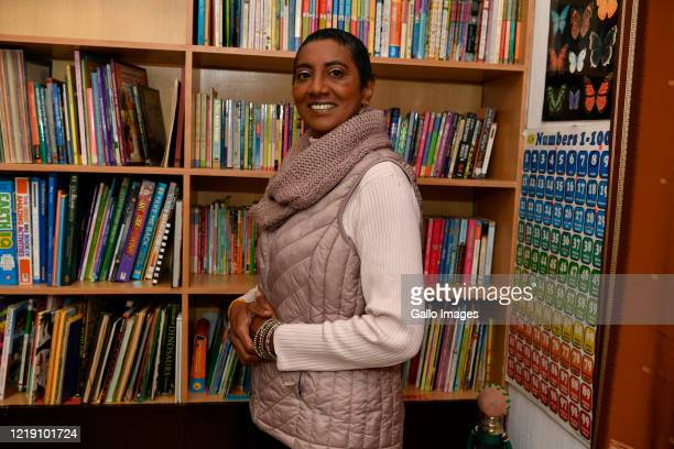 Ponnie Moodley pose a photo during an interview on June 09 2020 in Johannesburg South Africa The veteran educator of 31 years has transitioned to...