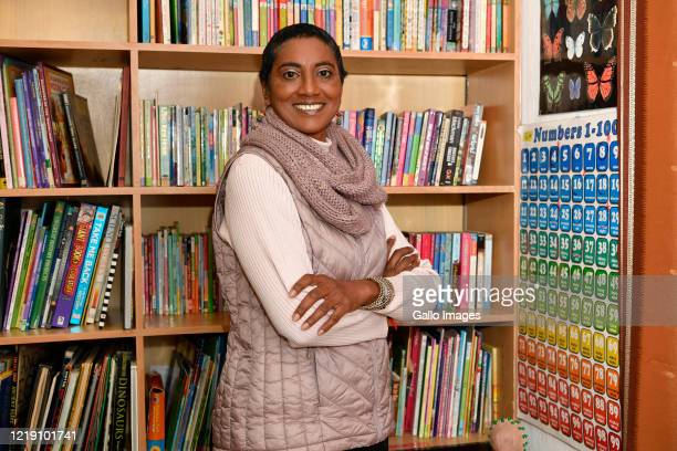 Ponnie Moodley poses a photo during an interview on June 09 2020 in Johannesburg South Africa The veteran educator of 31 years has transitioned to...