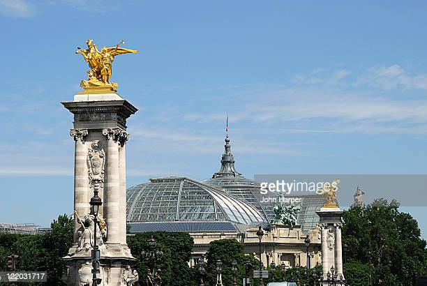 Pont Alexandre III and Grand Palais, Paris, France