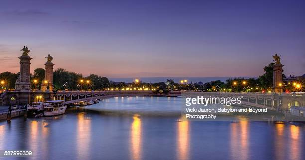 Pont Alexandre III Before Sunrise, Paris, France